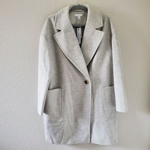 Topshop grey winter coat NWT